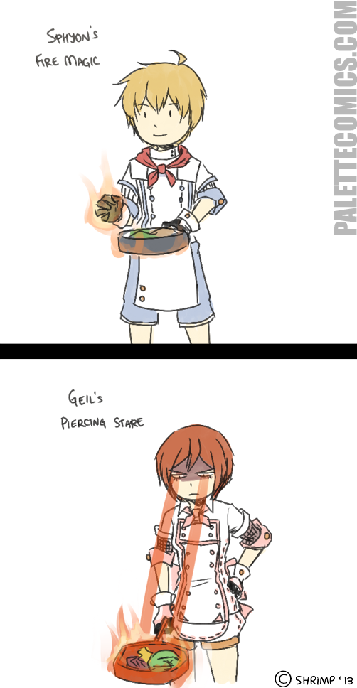 Fire Mage - Cooking without a stove